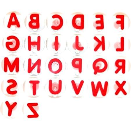 Eduplay 220004 – Riesenstempelset Buchstaben, 26-er Set