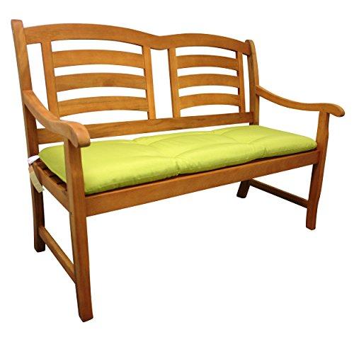 Indoba Bankauflage, 'Relax' - Serie Relax, grün, 114 x 41 x 5 cm, IND-70405-AUGB2