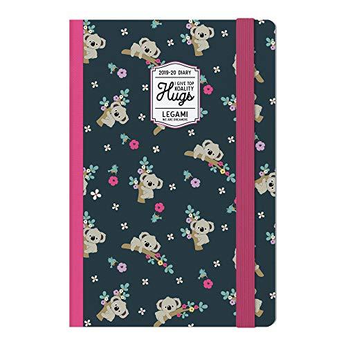 Medium  photo weekly diary with notebook 18 mesi 2019/2020 - koality hugs
