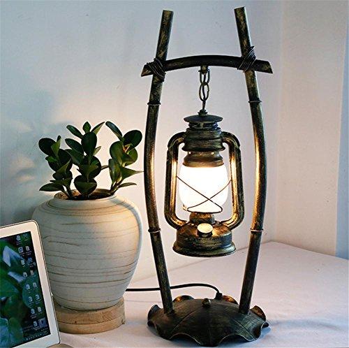 BIUODY Lampada da comodino Lampada da tavolo Lampada da tavolo luce dello scrittorio Atmosfera lampada da comodino camera da letto lampade cavallo Lampada di cherosene