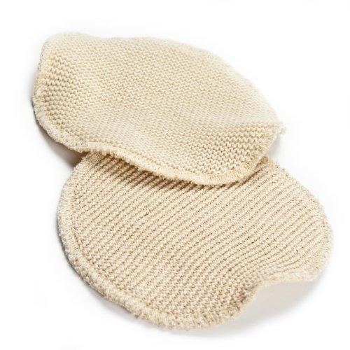 Elanee 208-00 Seide-Wolle-Stilleinlagen, 3-lagig, 1 Paar
