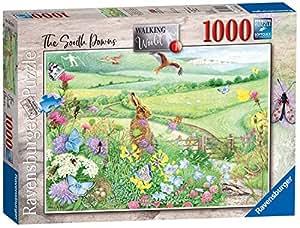 Ravensburger Walking World No.1 - South Downs 1000pc Jigsaw Puzzle