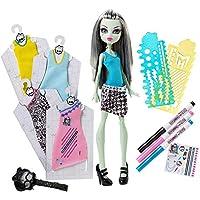 Mattel Monster High DNM27 - Modedesigner Buuuh-Tique inklusiv Frankie Stein Puppe