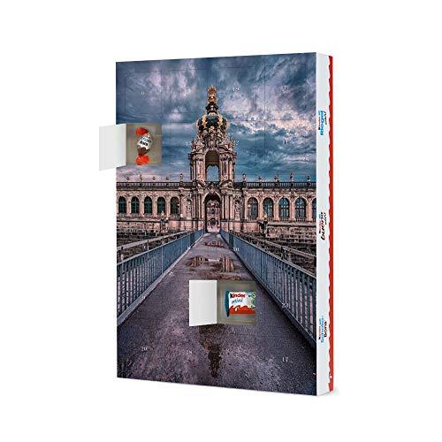 artboxONE Adventskalender XXL mit Produkten von Kinder Zwinger Dresden Adventskalender Architektur