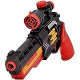 Babytintin Water Jelly Shots And Foam Darts Gun Toy - 40 Feet Range With 300 Water Jelly Shot (Black)(Gun With Water Jelly Shot)