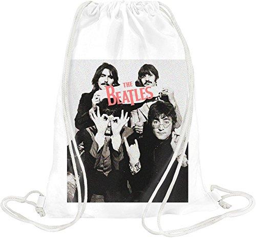 the-beatles-vintage-photo-drawstring-bag