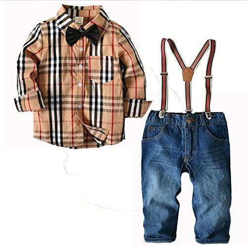 QTONGZHUANG T-Shirt da Uomo Uomo Uomo a Maniche Lunghe in Cotone a Maniche Lunghe per Bambini, Due Pezzi da Uomo, 100cm | Di Qualità Dei Prodotti  | Outlet  | Benvenuto  e728ba