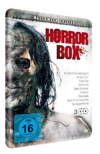 (Horrorbox ltd. Halloween-Edition (3 DVD Metallbox))