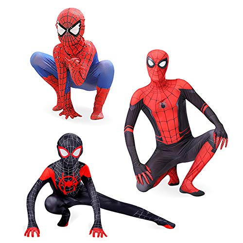 nihiug Halloween Spiderman Tights Parallel Cosmic Suit Clothes Adult Children