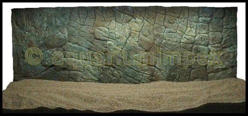 3D Aquarium Rückwand 120x60 Aquariumrückwand Dünn