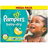 Junior Plus de 13-27kg de Pampers Baby Dry Taille (70) - Paquet de 6