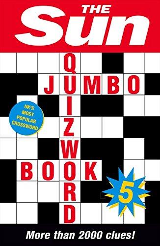 Sun Jumbo Quizword Book 5: Bk. 5 (Crossword)