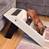 Portable Pet Folding Dog Cat Steps Step Stairs Lightweight