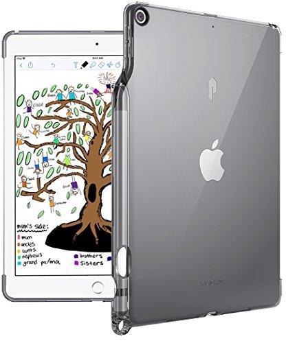 Preisvergleich Produktbild Poetic Lumos TPU Schutzhülle Apple iPad 9.7 (2018) - Flexibel,  Weich,  Ultra Dünn,  Schlagfest,  Durchsichtig