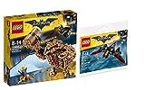 LEGO Le Batman Movie Set - 70904 - Gueule d'argile: Macdonald-attaque + 30524 le Mini Batwing dans le sac