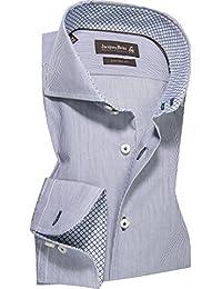 Jacques Britt Herren Hemd Oberhemd, Größe: 41, Farbe: Blau