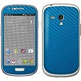 Designfolien atFoliX FX Skin pour Samsung Galaxy S3 Mini GT-I8190 Bleu électrique