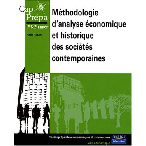 Méthodologie d'analyse économique et historique des sociétés contemporaines