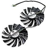 2 Pcs/lot PLD10010S12HH DC 12V 0.4A 4Pin Grafikkartenlüfter For GTX960 GTX950 R9 380 R9 390/390X GAMING Graphics Card Fan