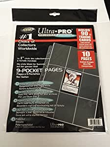 Ultra Pro 81359 - Pages Platinum 9-Pocket (10)