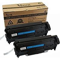 v4ink & # 174; compatible tóner sustituir a HP Q2612A 12A para HP Laserjet 1010101210151018102010223010301530203030305030523055M1005Impresora, color 2 PK Schwarz