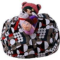 Preisvergleich für ZLQF Stofftier Kuscheltiere Aufbewahrung Aufbewahrungstasche Sitzsack Kinder Plüschtiere Aufräumsack Spieldecke Spielzeug Speicher Tasche Aufbewahrung Beutel 38Inch