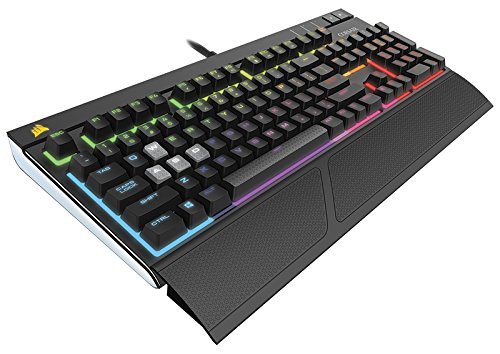 Corsair Gaming Strafe RGB - Clavier mécanique - Cherry MX Silent