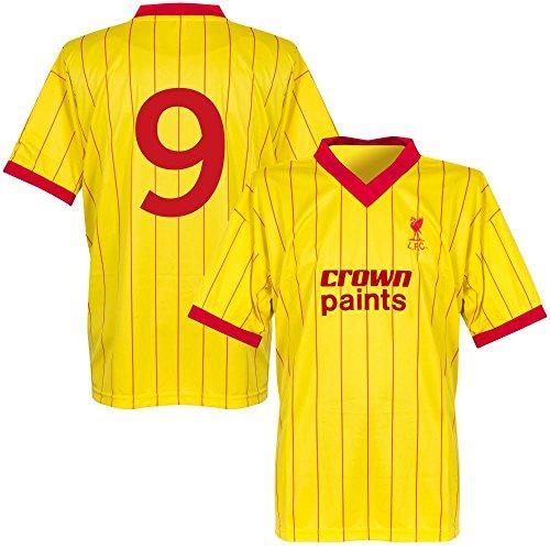 1982 Liverpool Away Retro Trikot + No9 - L
