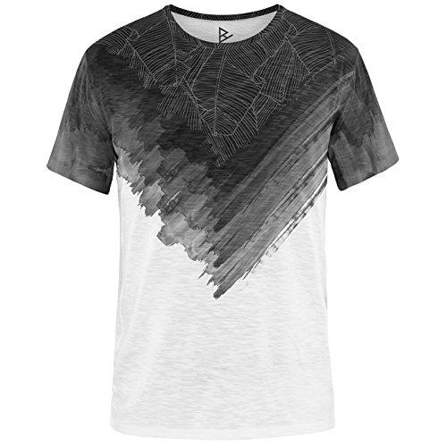Blowhammer Men's T-Shirt - Just Black Half