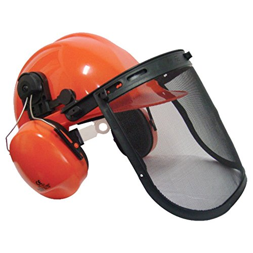 Affordable, well fitting and solidly built, this top-rated chainsaw helmet is perfect for sawing wood at home or in the forest.