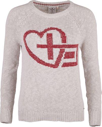 Chiemsee pull en tricot Kesarah Beige - Rainy Day