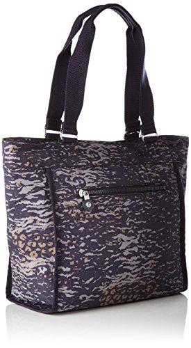 Kipling New Shopper S - Borse Tote Donna, Mehrfarbig (Water Camo), 42x27x0.1 cm (B x H T)
