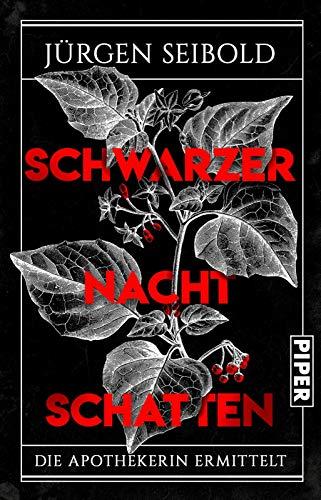 Buchseite und Rezensionen zu 'Schwarzer Nachtschatten: Die Apothekerin ermittelt' von Jürgen Seibold