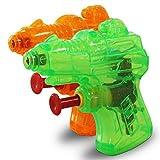 24 x HC-Handel 910574 Mini Wasserpistole 6 cm verschiedene Farben