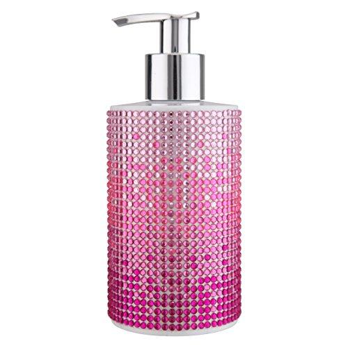 Preisvergleich Produktbild VIVIAN GRAY 3813 'Diamonds' Seifenspender mit Creme Seife 'Sundown',  pink (250 ml)