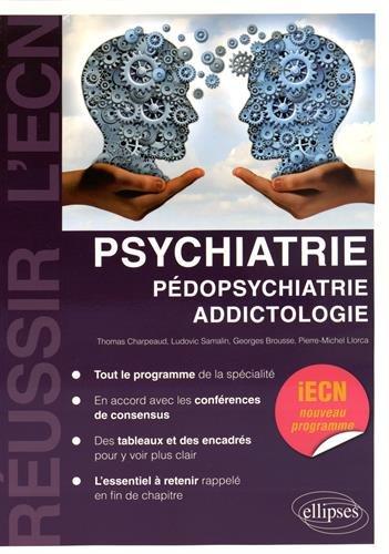 Psychiatrie Pdopsychiatrie Addictologie iECN Nouveau Programme