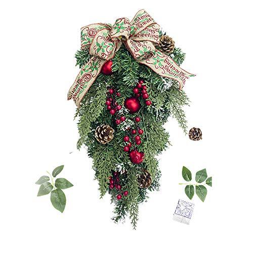 Kostüm Rote Cane - MA87 Weihnachtsbaum Pineal Obst Cane Hanging Ornament Dekoration Weihnachtsfeier Dekor (B)