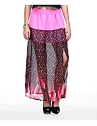 Yepme Women's Poly Cotton Skirt - YPMSKRT5056-$P