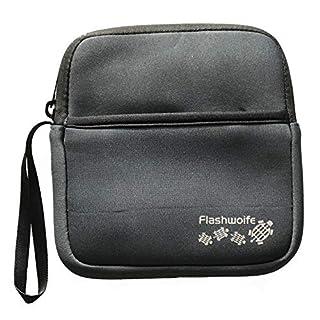 flashwoife/Archgon® Neopren Schutzhülle Sleeve Case für Externe CD DVD Blu-Ray Laufwerke & Hard Drive´s mit extra Staufach