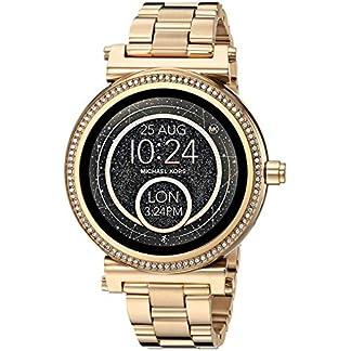 Michael Kors acceso Sofie dorado pantalla Táctil reloj inteligente