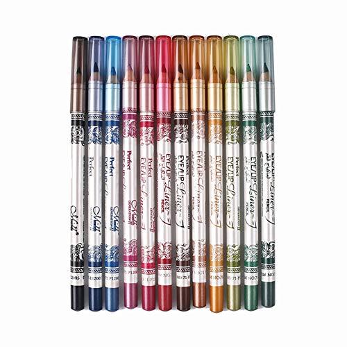 Ensemble de crayon à lèvres mat - 12 couleurs assorties