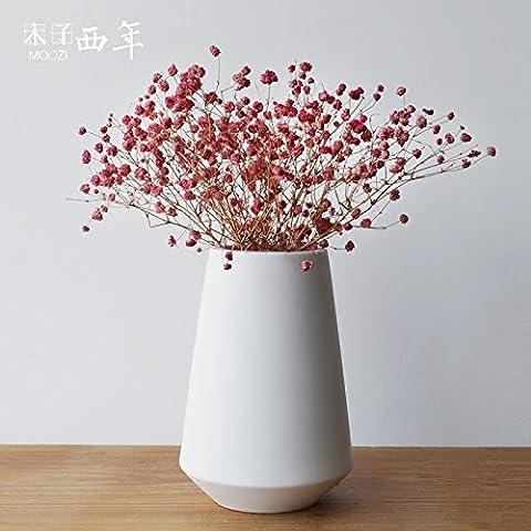 Beata. F Creative Einfache modernes Wohnzimmer Dekoration europäischen und japanischen Keramik Vasen Desktop-Dekoration Ornaments Schmuck.