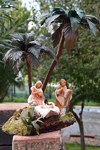 Presepe, natività sotto le palme - diorami, miniature