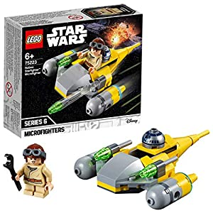 LEGO Star Wars - Microfighter Naboo Starfighter, 75223  LEGO