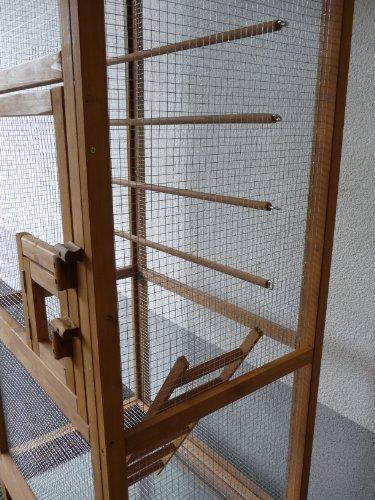 point-zoo Vogelvoliere Voliere Vogelkäfig Käfig XXL
