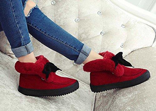 Scarpe Da Ginnastica Alla Moda Da Donna Con Calzatura Con Tacco A Tacco Piatta Red