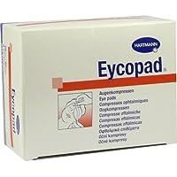 EYCOPAD Augenkompressen 70x85 mm unsteril 5 St Kompressen preisvergleich bei billige-tabletten.eu