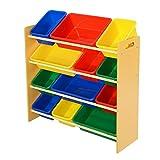 12 Kinderregal Aufbewahrungsregal Spielzeugbox Spielzeugregal Spielzeugkiste Kindermöbel Kinder Aufbewahrung Boxen