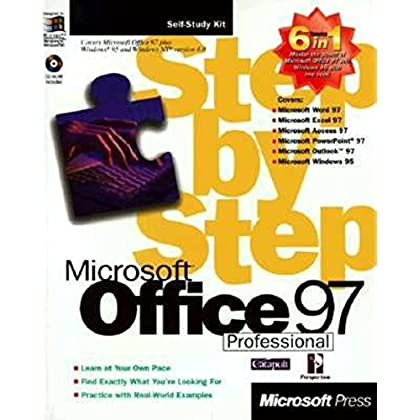 OFFICE 97 PROFESSIONAL STEP-BY-STEP