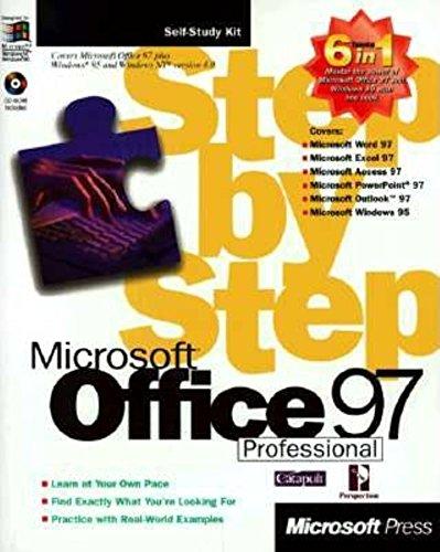 OFFICE 97 PROFESSIONAL STEP-BY-STEP par Microsoft Press